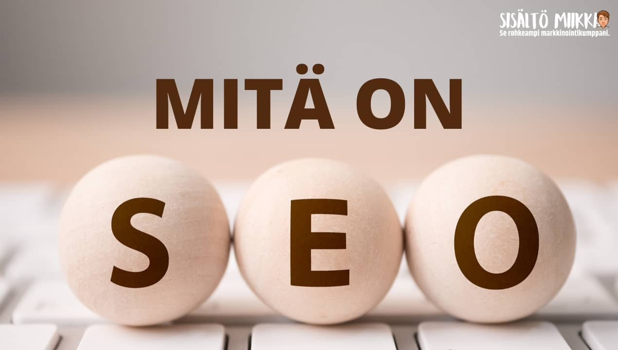 Mitä on seo