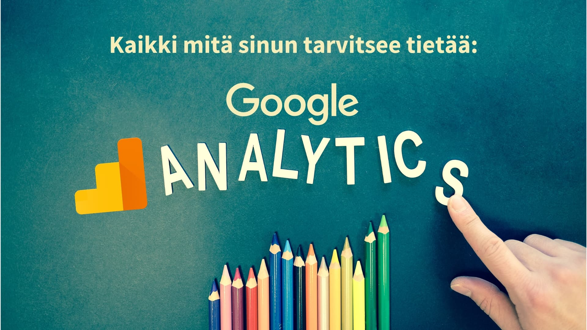 Google analytics esittely kuva