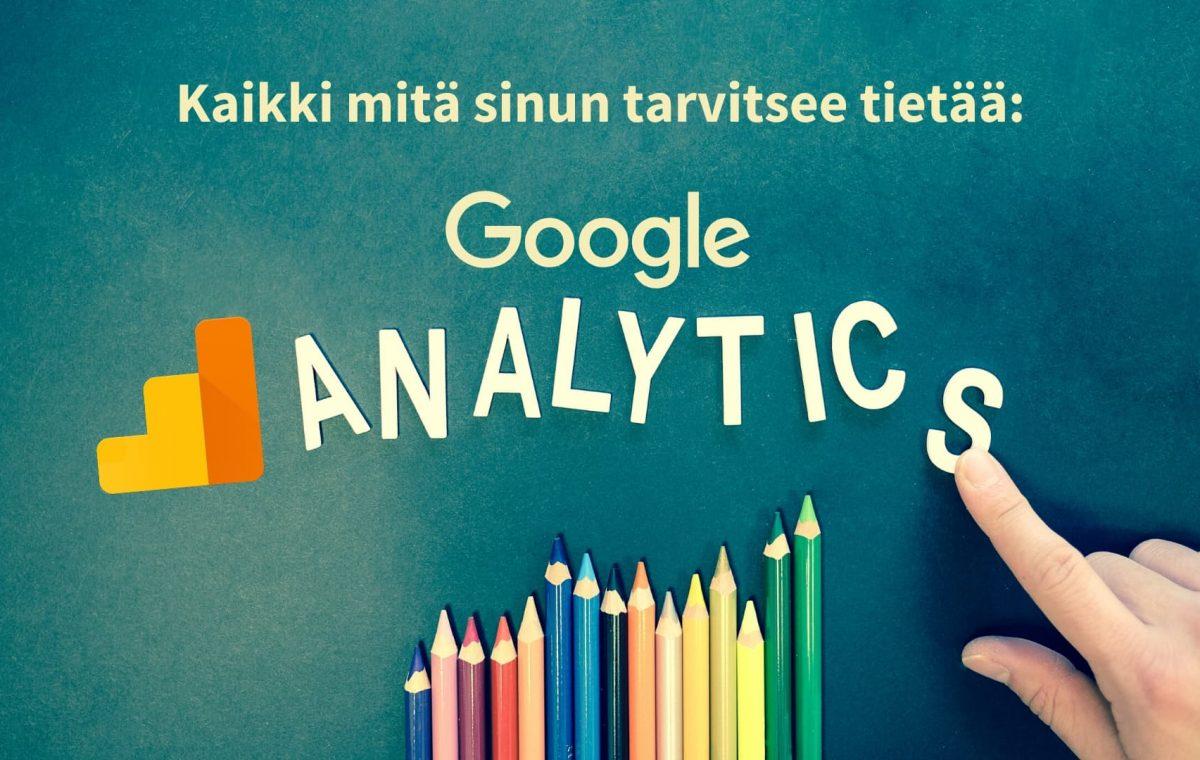Google analytics esittely kuva