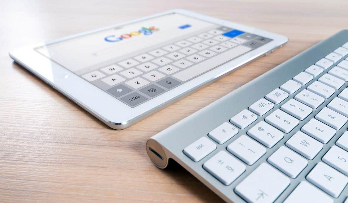 iPad Google hakukoneoptimointi