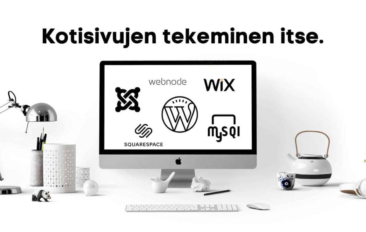 erilaisia verkkosivutyökaluja tee-se-ite kotisivuille